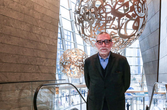 Jaume Plensa at 30 Hudson Yards