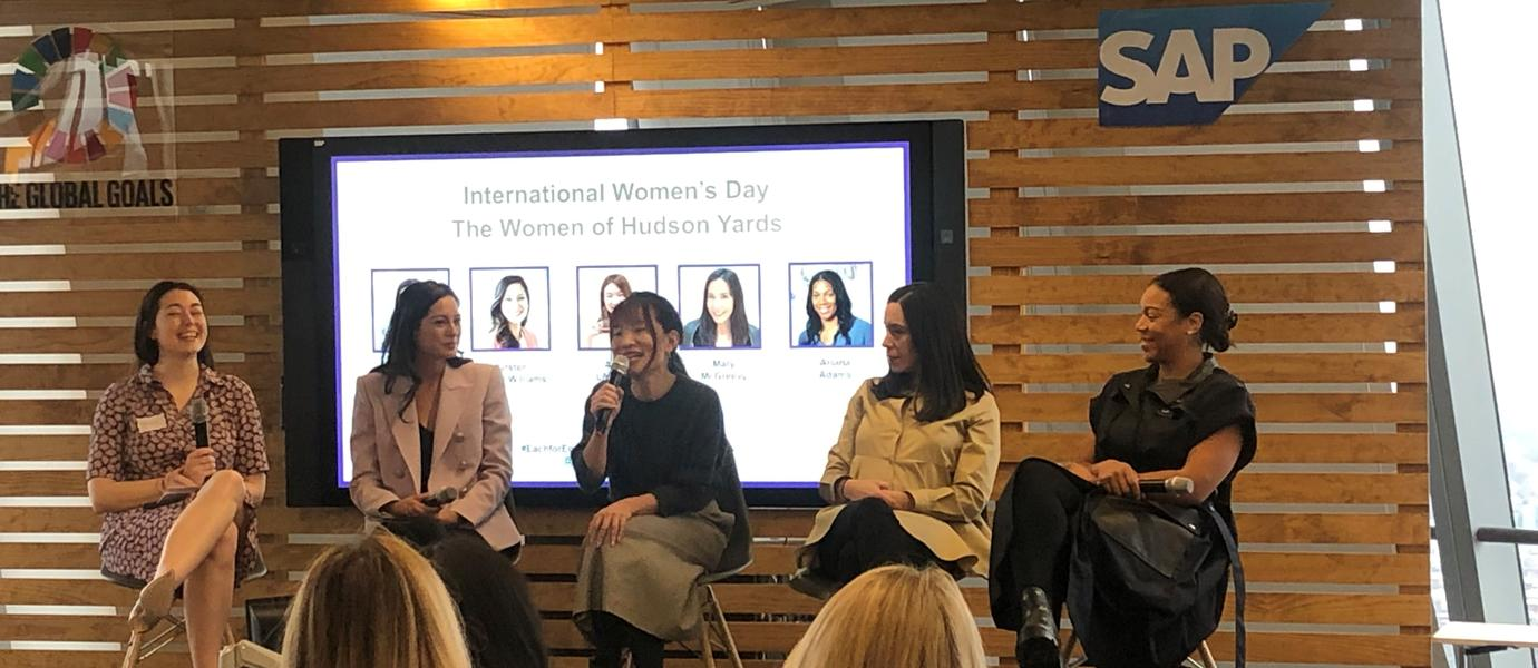 The Women of Hudson Yards at Panel