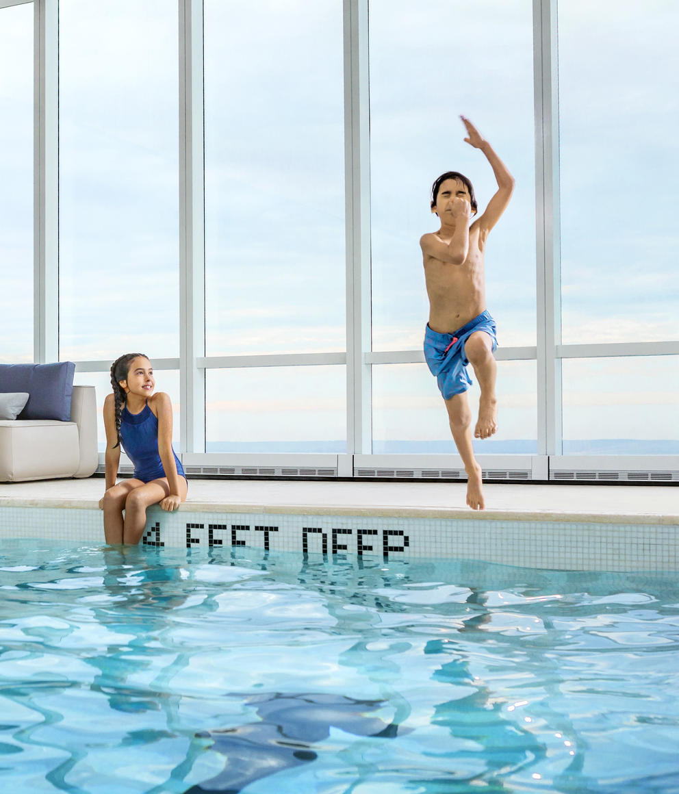15 Hudson Yards Pool with Kids