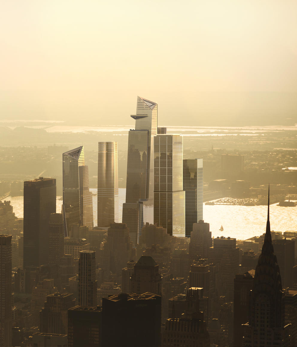 Image of Overall Hudson Yards from the East