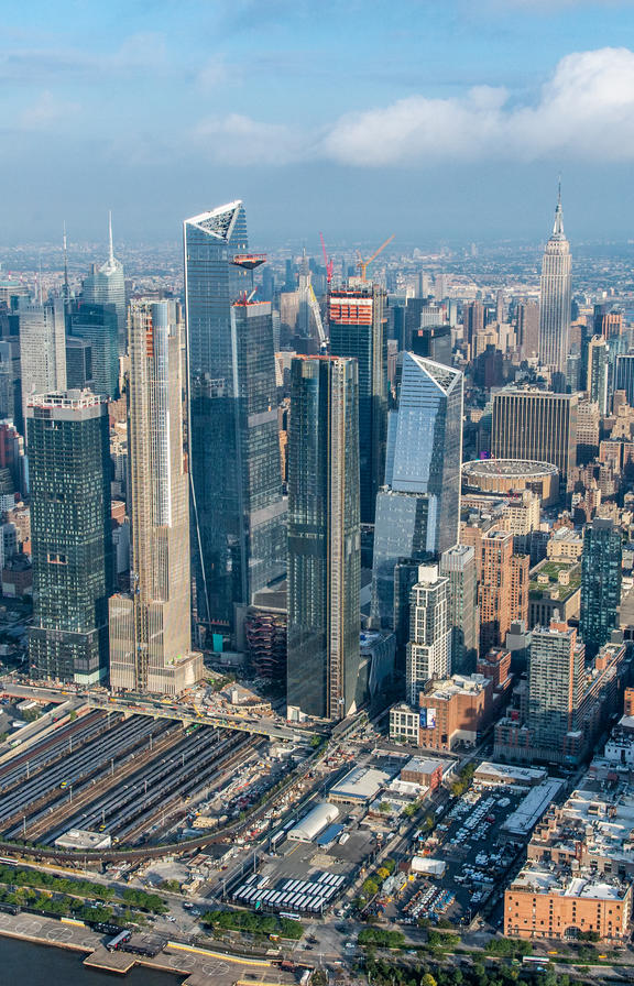Image preview - Hudson Yards Aerial View - October 2018