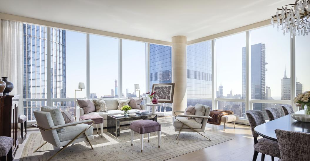 15 Hudson Yards residence space with view of Manhattan
