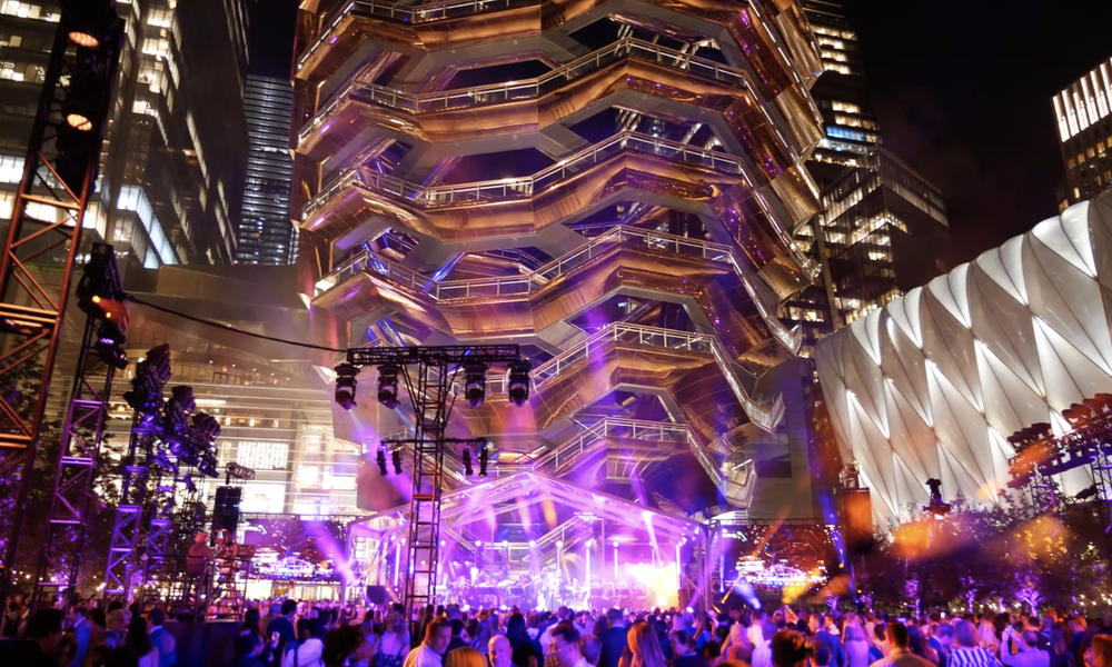 35 Hudson yards Opening Event