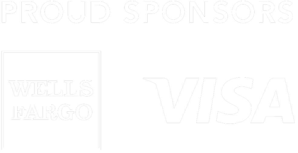 Proud Partners: Wells Fargo & Visa